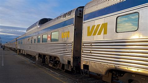 Via Rail's b Plan For Quebec-ontario Route Opts For