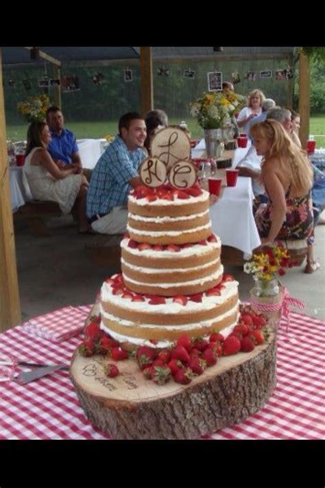 strawberry shortcake wedding cakei   idea