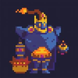 Pixel Art Bombe : bomb king by loukratos on deviantart ~ Melissatoandfro.com Idées de Décoration