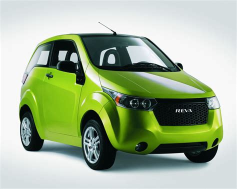 Electric Cars : Two New Electric Cars From Reva In Frankfurt