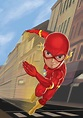 The Flash Cartoon Painting on Behance