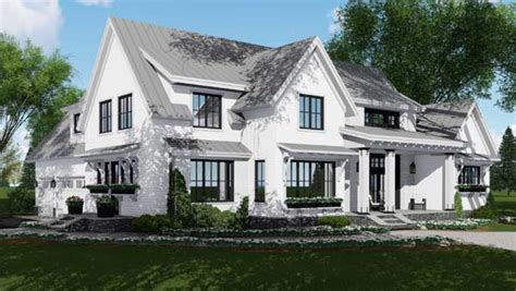 Modern-farmhouse House Plan-bedrooms, Bath, Sq