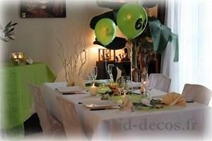 Photos mariage anniversaire bapteme idees decoration for Salle de bain design avec décoration table anniversaire 90 ans