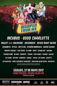 ¡Incubus encabezará el primer Warped Tour en México ...
