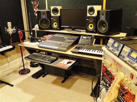 recording studio desk plans 5 awesome recording studio desk plans on a budget
