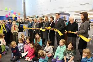 Official Ribbon Cutting at Pohick Regional Library. Center ...