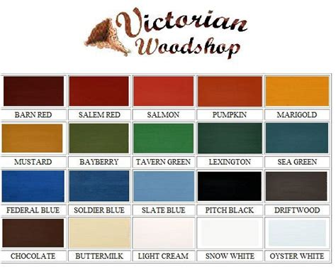 Victorian Wall Paint Colors