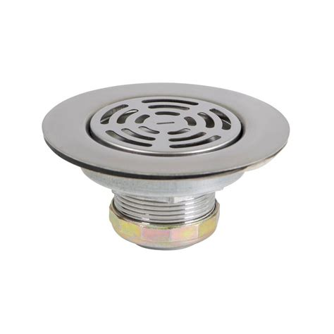 plumbers choice      flat stainless
