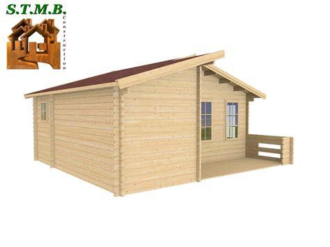 fabricant chalet bois habitable chalet 33 m2 en bois habitable de loisirs en kit avec terrasse