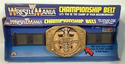 How Many Versions Of The Wwf 1985/86 Belt Exist