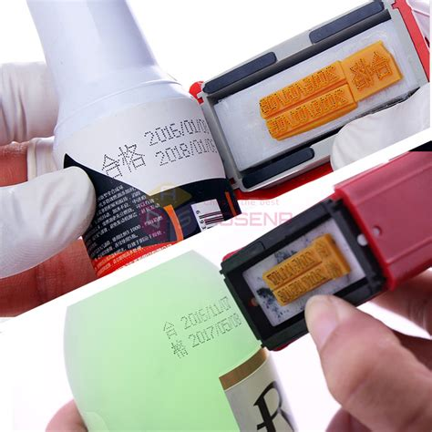 New Mini Manual Handheld Coding Tool Code Date Printing