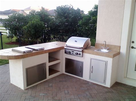 prefabricated outdoor kitchen islands built in barbecue best how to build a grilling island 4396