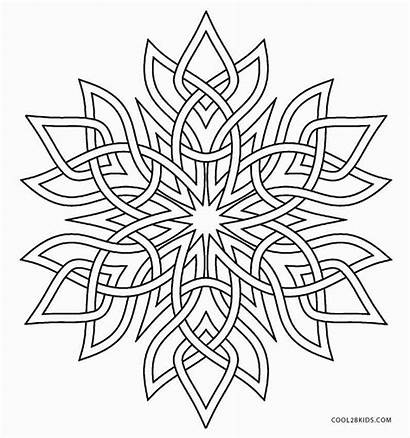 Snowflake Coloring Pages Snowflakes Adults Cool2bkids Adult