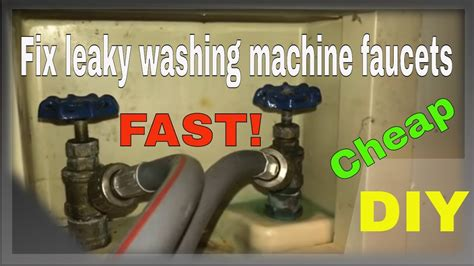 fix leaky washing machine faucets forcetv