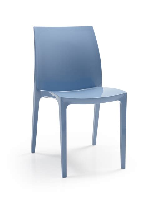 chaises bleues allibert sento chaise bleue allibert