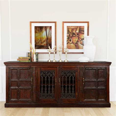 Hutch Sideboard Buffet by Gates 85 Quot Reclaimed Wood Sideboard Buffet Cabinet