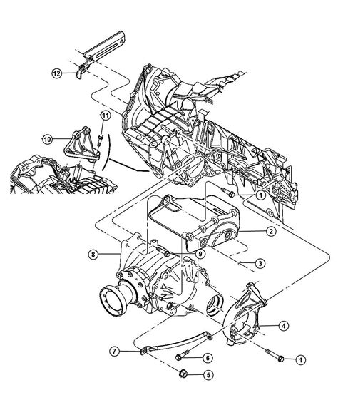 2004 Chrysler Pacifica Transmission Diagram by 2004 Chrysler Pacifica Motor Mount Diagram
