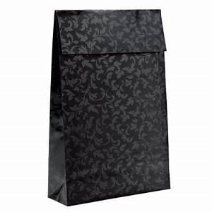 Pochette Cadeau Papier : pochette cadeau baroque noir x p 9 x cm par 25 ~ Teatrodelosmanantiales.com Idées de Décoration