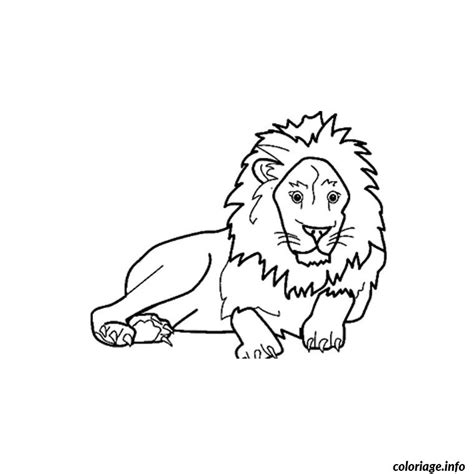 Coloriage Animaux Savane Africaine Dessin