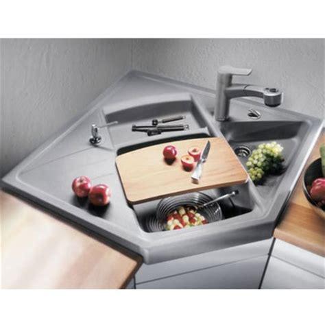 robinet cuisine solde blancomodus m 90 silgranit module évier de coin café 515 085