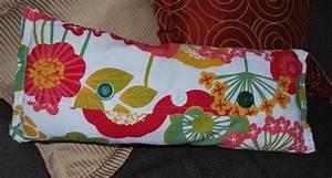 Napkin-covered throw pillows