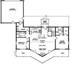 ranch style log home floor plans log cabin on log cabins log homes and log cabin plans
