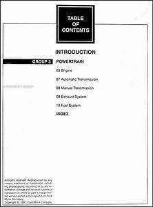 1998 Ford F150 F250 Shop Manual 2 Volume Set F 150 250