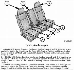 2009 Dodge Journey Seat Diagram