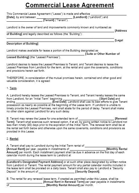 Commercial Sublease Agreement Templates by 13 Free Sle Office Sublease Agreement Templates