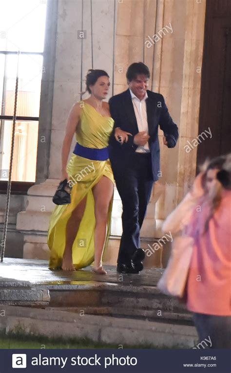 Tom Cruise And Rebecca Ferguson Tom Cruise And Actress