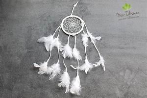 Attrape Reve Blanc : attrape r ve blanc avec des plumes mon ~ Teatrodelosmanantiales.com Idées de Décoration
