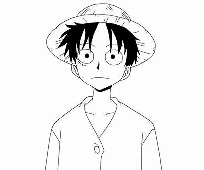Luffy Monkey Coloring Pages Printable Random