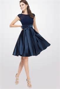 robe de mariã e bleu robes de mode robe bleu marine chic pas cher