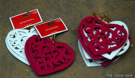 easy valentine s day decorations the gunny sack