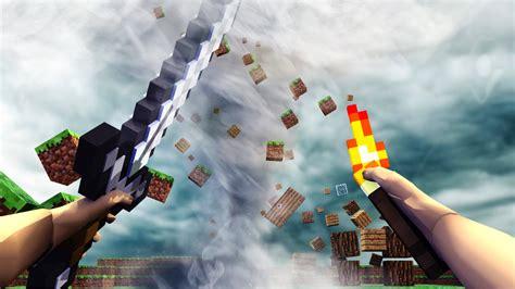 Minecraft  Realistic Minecraft Challenge! Tornado Natural