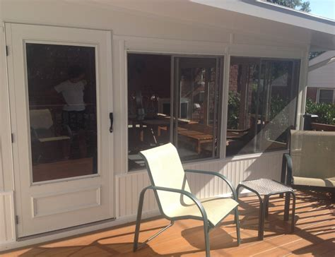 sunroom  deck combo ss remodeling contractors