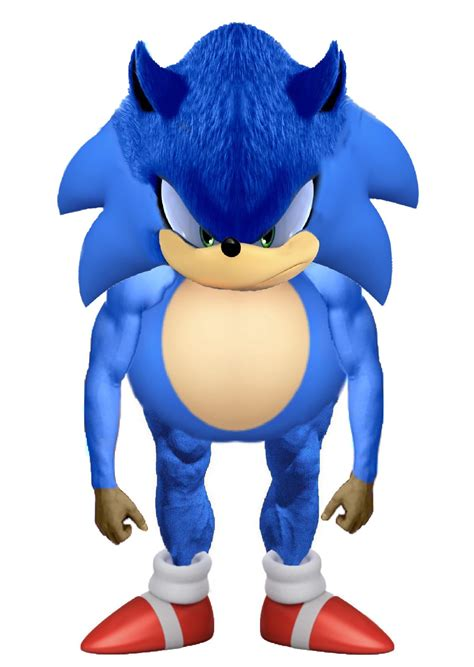 Movie Sonic (can you count this as an edit ...