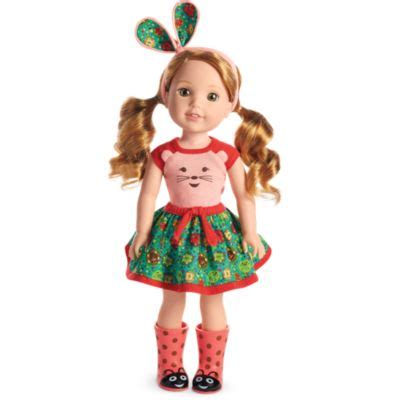 american doll willa doll welliewishers american