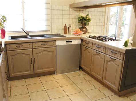 relooker cuisine chene relooker sa cuisine à moindre frais maisonapart