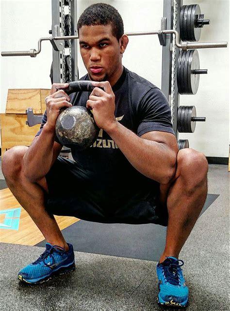 squat goblet kettlebell training olympic judoka swings 88kg finally getting colton dragondoor usa