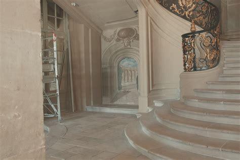 restaurateur de peinture murale restitution d un d 233 cor monumental h 244 tel de ville de nancy