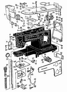 Kenmore 14815600 Mechanical Sewing Machine Parts