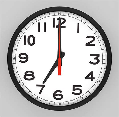 Clock Four 7 Oclock Clipart Collection