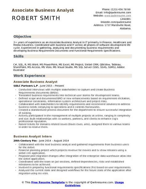 qlikview resume sle resume ideas