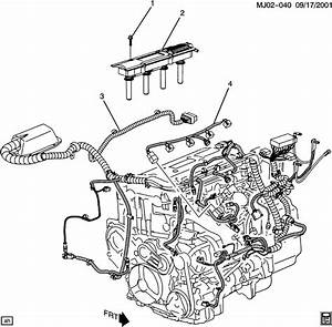 2003 Chevrolet Cavalier Base 2dr Connector  Chassis Electrical  Fuel Injection  Ignition Coil