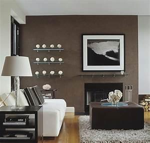 Wandfarbe Für Wohnzimmer : wohnideen f r wohnzimmer 5 schlichte einrichtungsideen und tipps ~ One.caynefoto.club Haus und Dekorationen