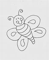 Bee Coloring Sheets Even Printable Template Bees Baby sketch template