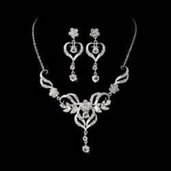 bridesmaids jewelry sets beautiful wedding jewelry set silver or gold