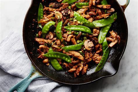 stir fried chicken  black beans recipe