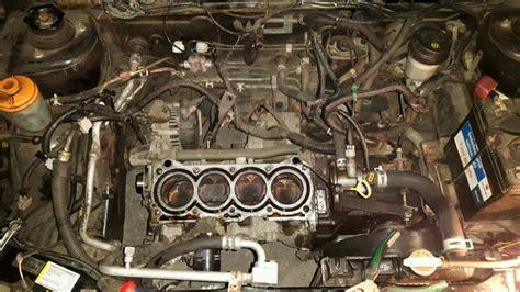 reparing headgasket  valve seals   gbb suzuki